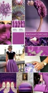 Radiant orchid il colore dell'anno