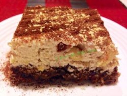 Raw bicolor cake