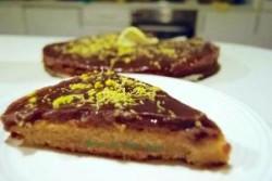 Torta nocciola cioccolato e limone