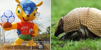 Fifa e mascotte mondiali