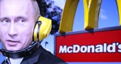 Mcdonald's e Putin