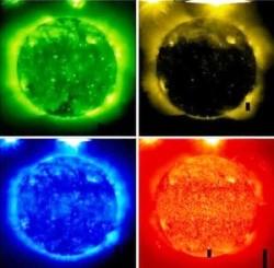 Nasa oggetto sul sole 1.3