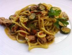 Spaghetti cicale e zucchine 1.1
