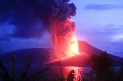 Eruzione vulcano Tavurvur