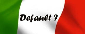 Italia default
