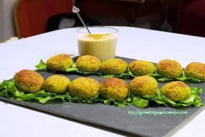 Polpette zucchine yogurt