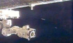 Ufo stazione internazionale
