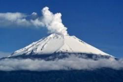 Avvistamento umanoidi sul vulcano Popocatepetl