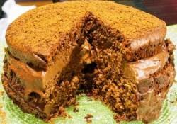 Choco cream cake