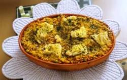Lasagne di polenta e ragu vegan
