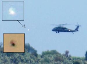 Ufo intercettano elicottero Messico
