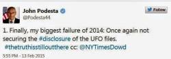 Consigliere di Obama e le dichiarazioni sugli UFO