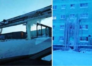 Dudinka la città congelata