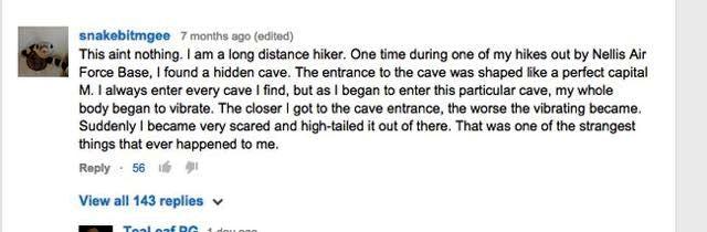 Kenny Veach uomo scomparso fra le caverne del Nevada