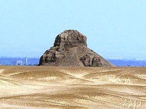 Piramide Amenemhet III (nera) - Dahshur - Egitto