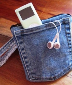 Riciclare vecchi jeans