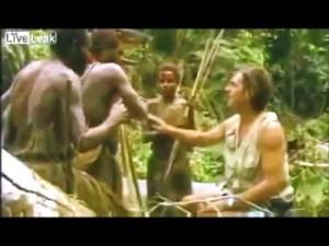 Tribù incontra uomo bianco