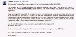 commento anonimo volo Germanwings AU9525 1.1