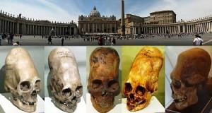 teschi in Vaticano