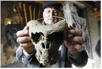 Crani degli Dei scoperti in Russia
