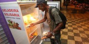 frigorifero di strada in brasile