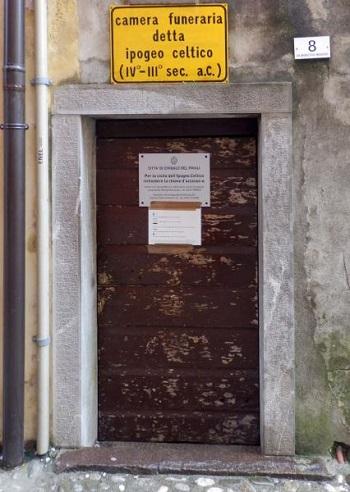 Ingresso ipogeo Celtico di Cividale del Friuli
