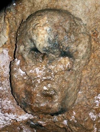 Maschera Ipogeo celtico Cividale del Friuli